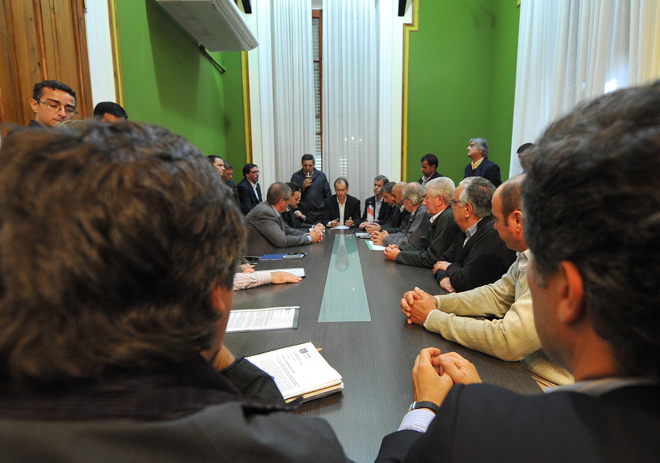 El gobierno conformó un Comité de Crisis junto a los productores
