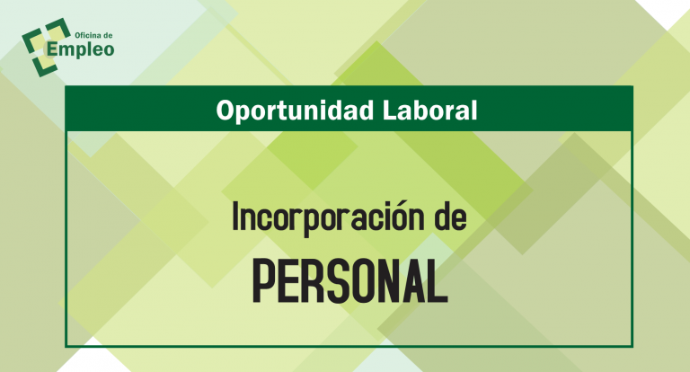 Oportunidad laboral