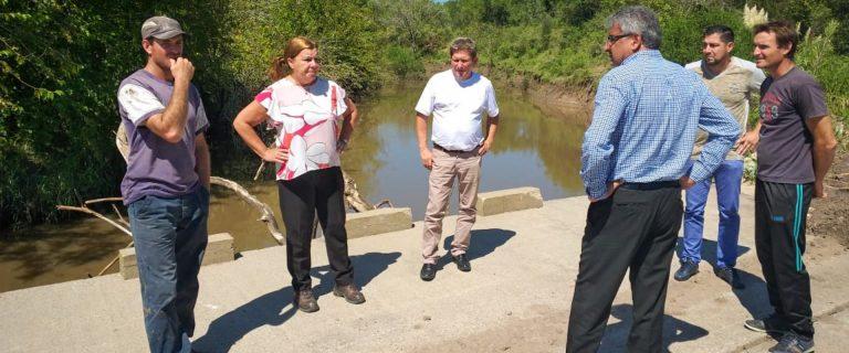 Planifican trabajos para la zona de Antonio Tomás