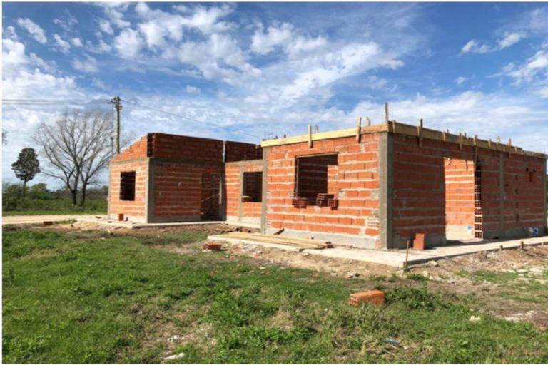 Se ejecutarán nuevas viviendas para María Grande