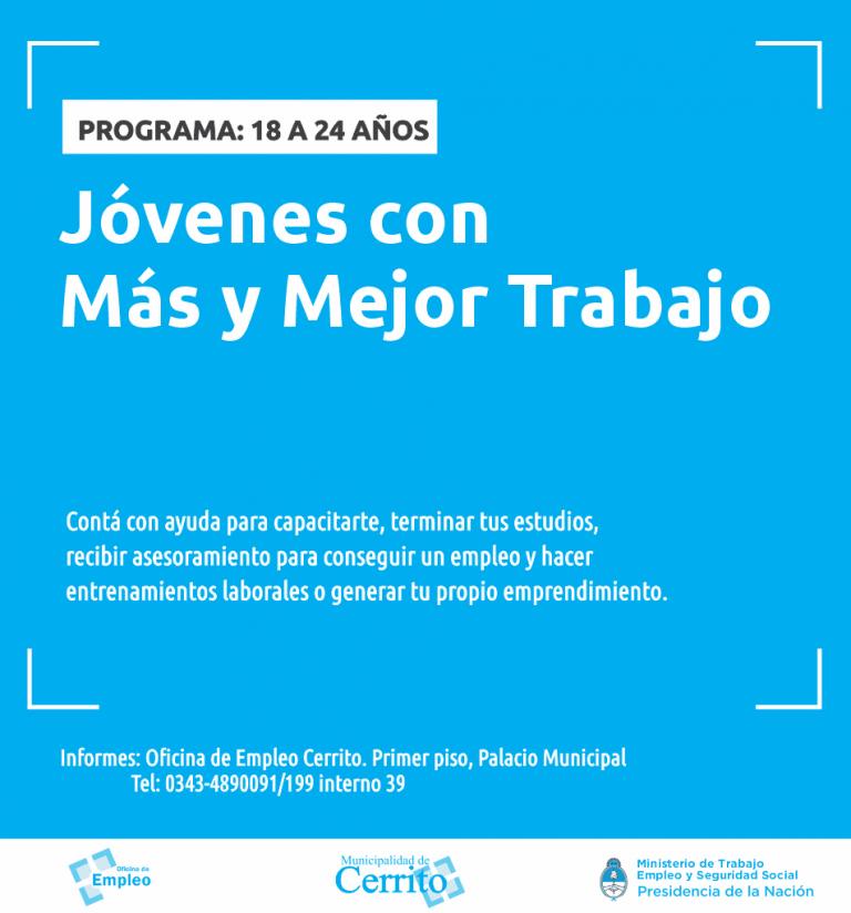 Inicia el programa Jóvenes por Más y Mejor Trabajo
