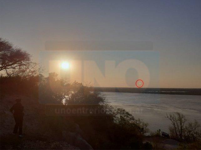 Curtiembre: ¿Pescadores fotografiaron un ovni?