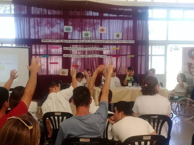 Se creó la primera cooperativa escolar de Educación Especial