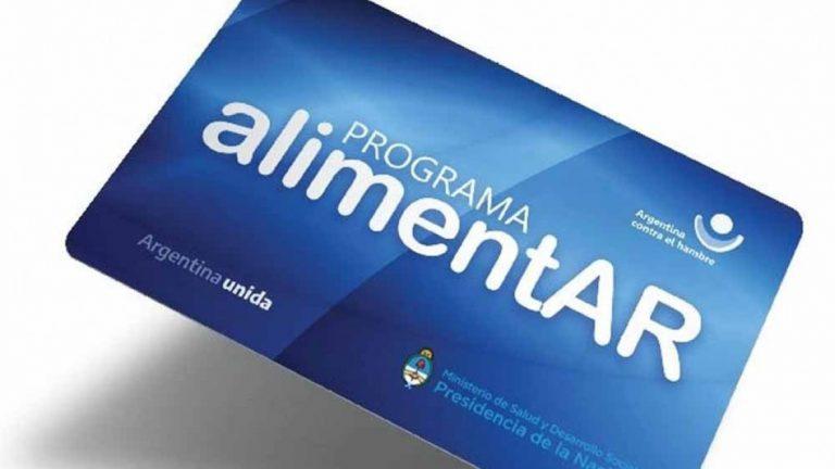 Llegan a Cerrito las tarjetas del programa AlimentAr