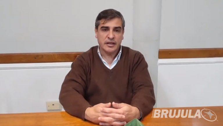 Conferencia de prensa del Intendente de la localidad de Cerrito por la situación de COVID-19 17/09