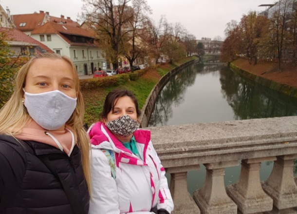 Dos cerritenses en Eslovenia