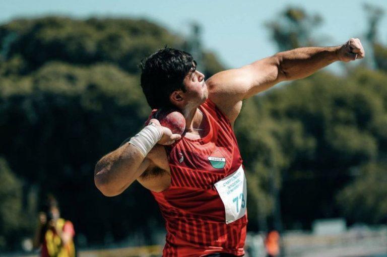 Nazareno Sasia ganó su primer nacional de mayores