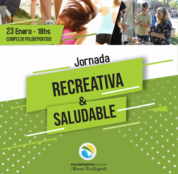 Sábado de jornada recreativa y saludable