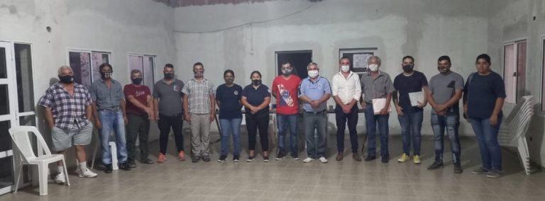 Pueblo Brugo forma su primer cuerpo de bomberos voluntarios