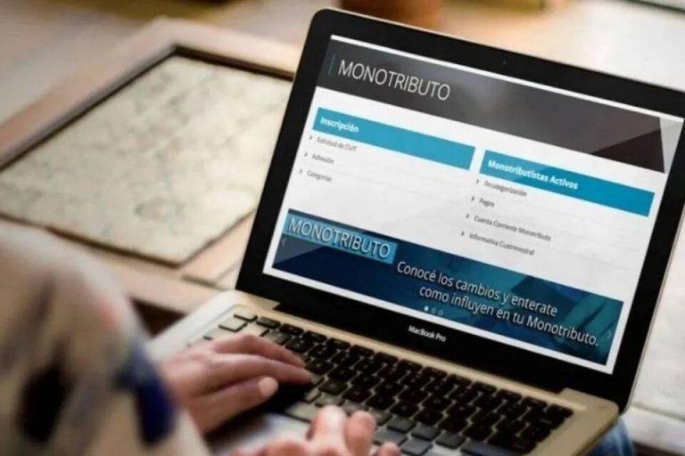 AFIP categorizó a 4 millones de monotributistas