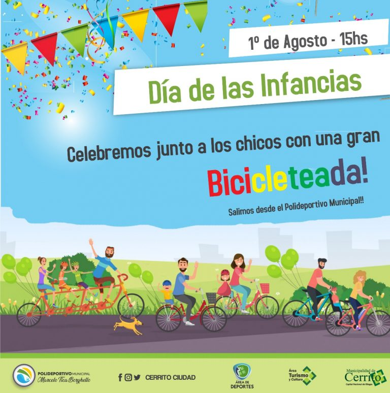 Cerrito celebra el día de las infancias
