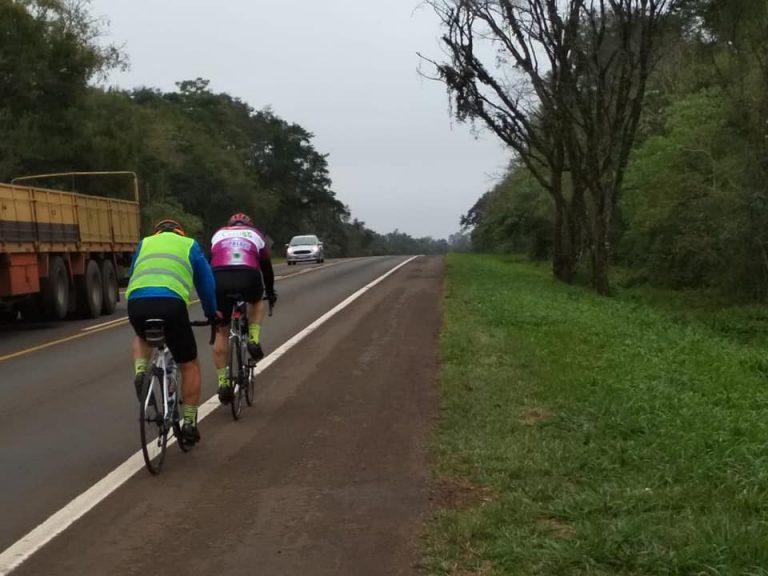 Cerritenses llegaron pedaleando hasta Cataratas