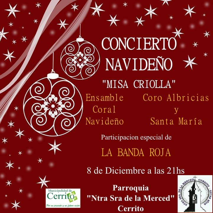 Concierto navideño y Misa Criolla