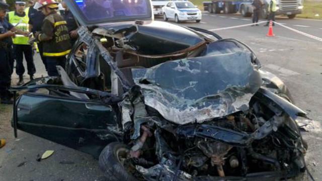 El accidente de la ruta 14, un posible suicidio