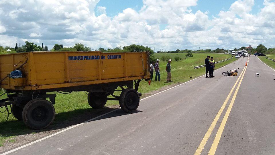 Fatal accidente sobre Ruta Provincial N° 8
