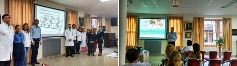 Primer centro de donantes voluntarios de médula ósea en Paraná Campaña