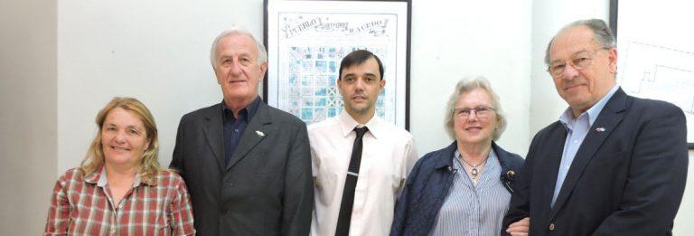 Ex Embajador esloveno visitó Cerrito