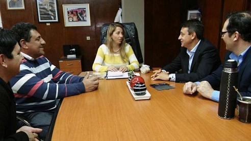 Curtiembre y Brugo gestionan en el ministerio de desarrollo