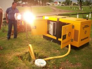 electricidad con biogas