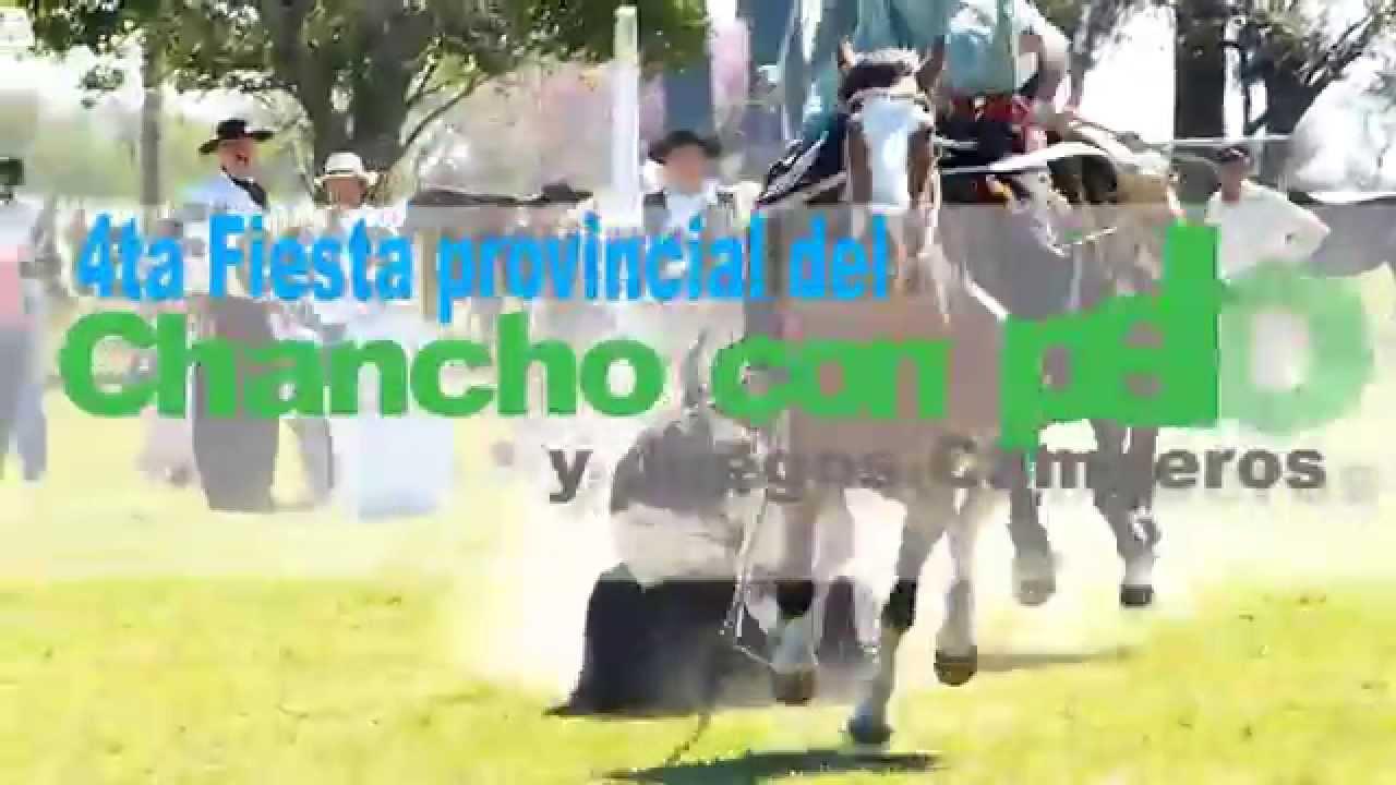 Este domingo se realiza 4ta Fiesta del Chancho con Pelo y Juegos Camperos en Cerrito. Mira el spot publicitario