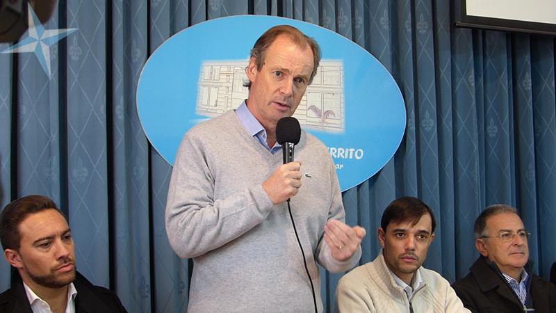 El gobernador visitó por primera vez Cerrito junto a su gabinete