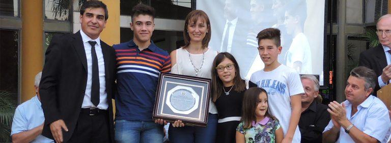 Cerrito homenajeó a Orlando Lovera