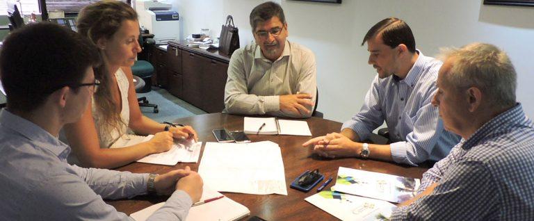 Reunión con el Secretario de Energía de la Provincia