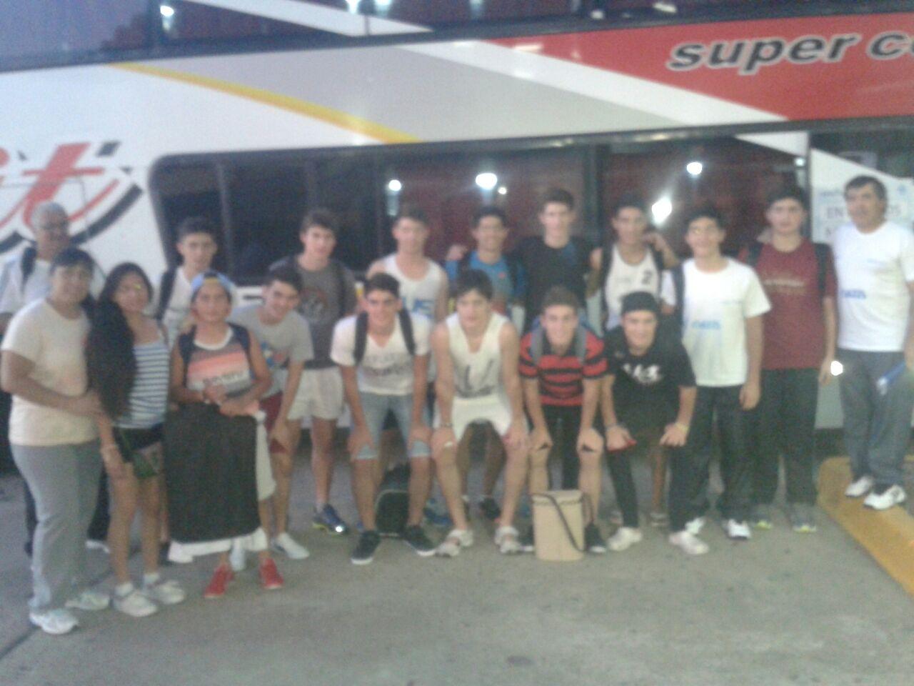 Jóvenes de Cerrito viajaron a Mar del Plata