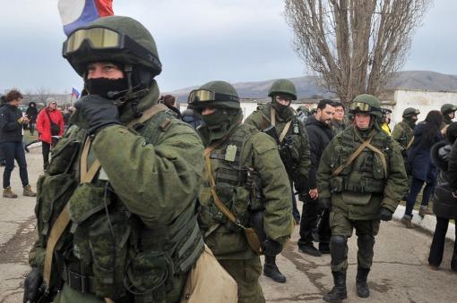 milicianos pro rusos