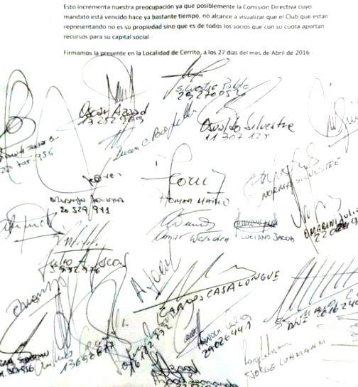Socios reclaman transparencia en el Club Unión Agrarios
