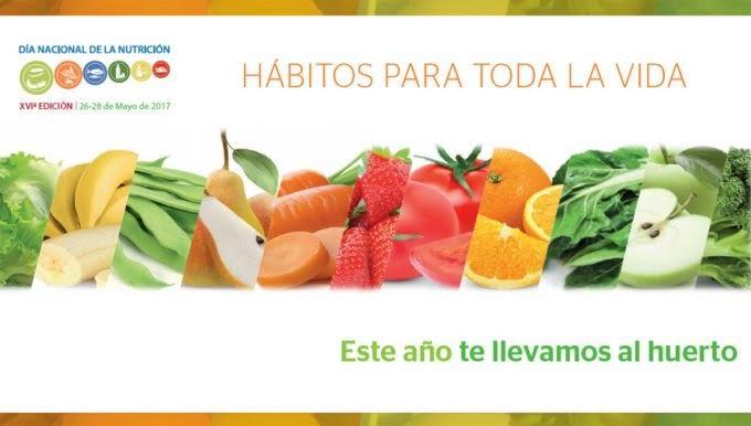 """Día Mundial de la Nutrición: """"Hábitos para toda la vida»"""