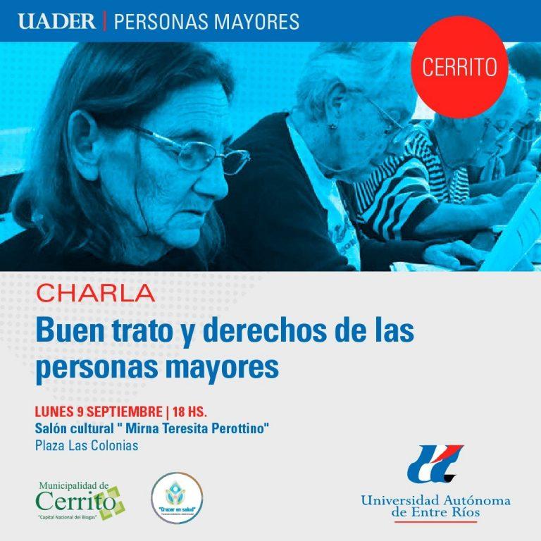 Capacitación sobre derechos de las personas mayores