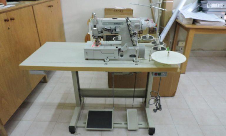 Llegaron herramientas del Proyecto Unidad de Negocio Textil