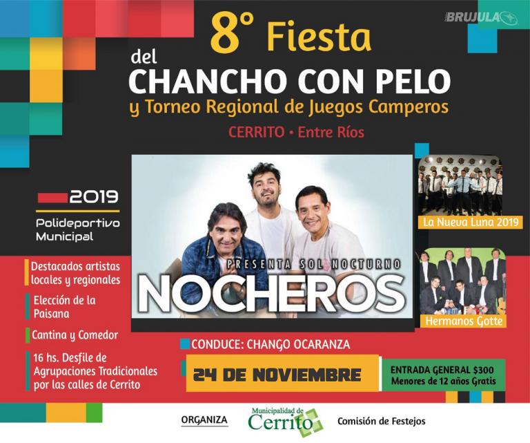 24 de Noviembre: Fiesta del Chancho con Pelo en Cerrito