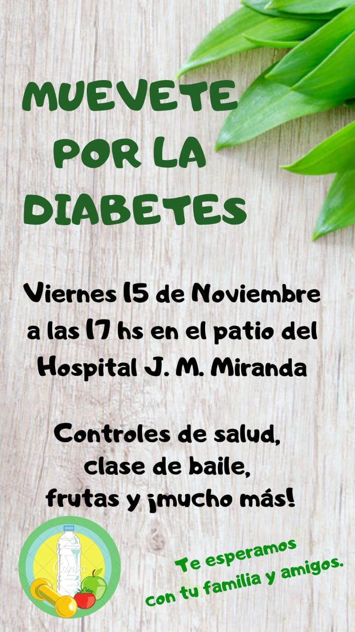 """Muevete por la diabetes"""
