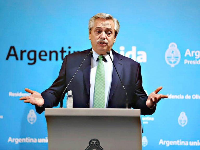 Carta de Alberto Fernández al pueblo argentino