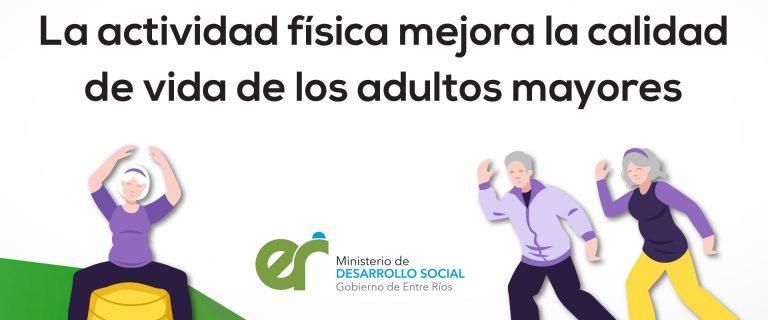 Adultos mayores y la necesidad de actividad física en casa