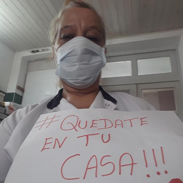 """""""Ser enfermera es arriesgarse a todo"""""""