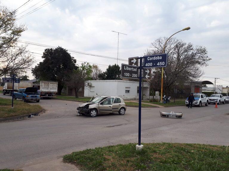 Accidentes de tránsito en la zona