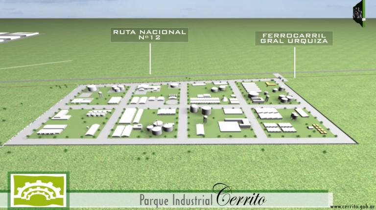 """""""Cerrito inaugura su parque industrial con empresa local"""""""