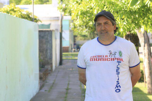 Marcelo Borghello seguirá siempre en el polideportivo