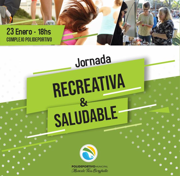 Sábado de jornada recreativa y saludable