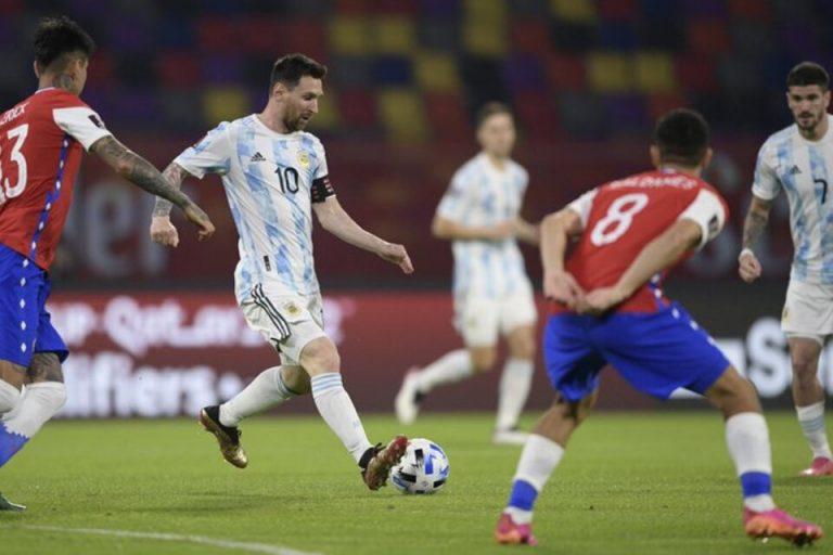 Argentina no deslumbró e igualó con Chile en Santiago del Estero