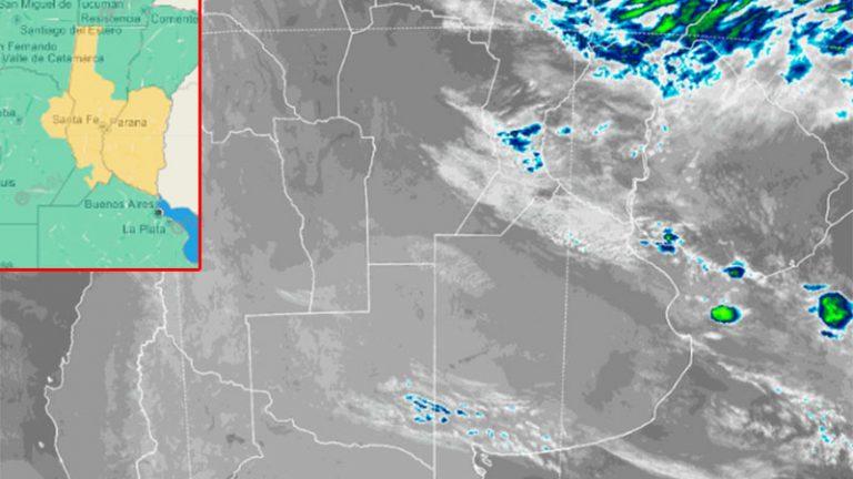Emitieron alerta por tormentas para Entre Ríos y otras provincias