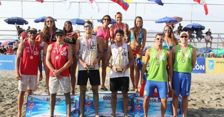 Azaad y Capogrosso campeones en Perú
