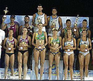 Azaad y Aulisi campeones de beach voley en Venezuela