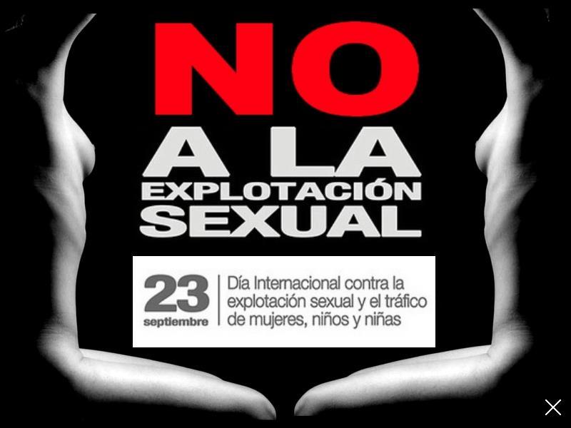 El Día Contra la Explotación Sexual debe ser una jornada de lucha y reflexión