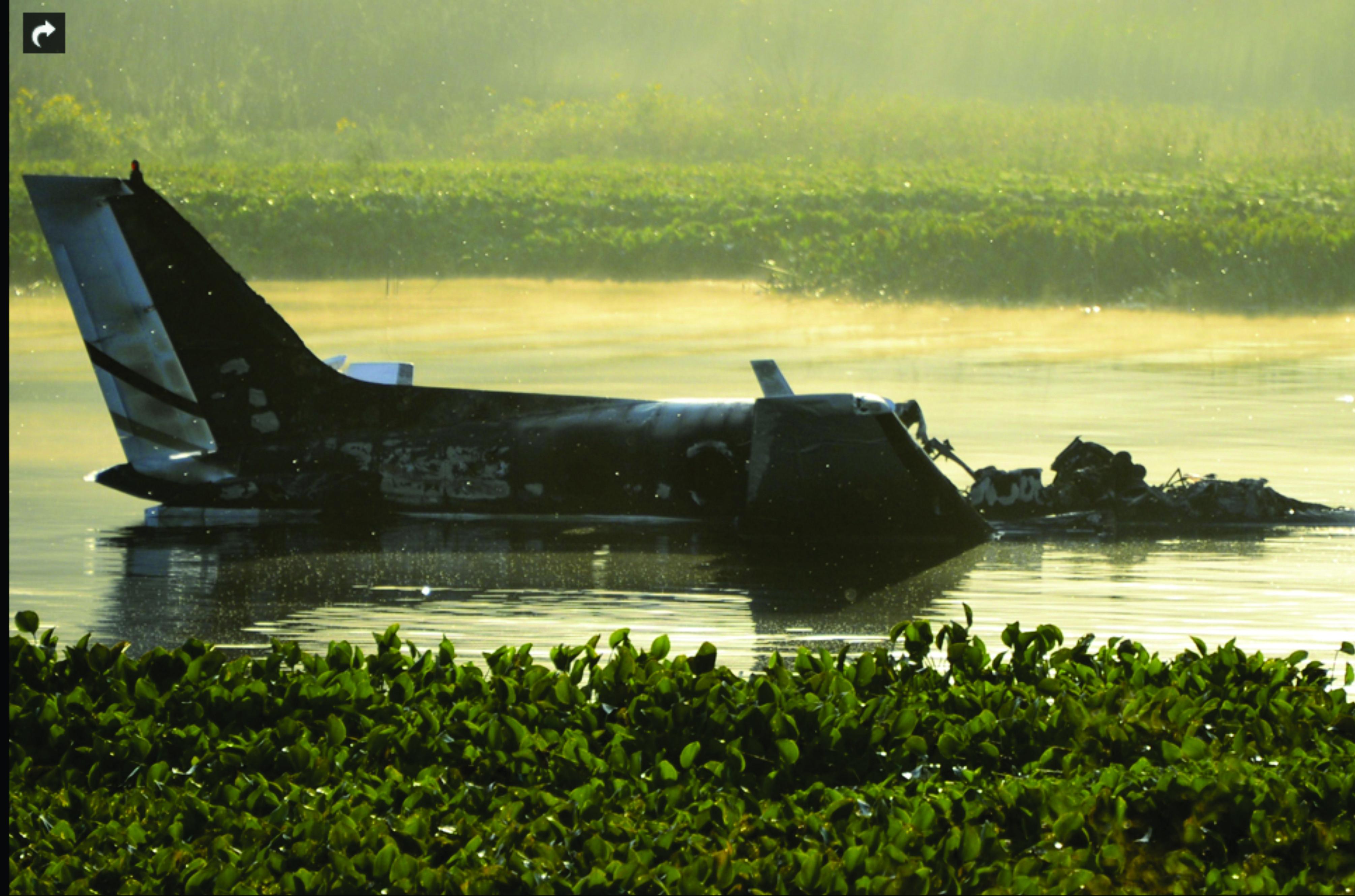 Avión argentino cayó en Uruguay: no hay sobrevivientes