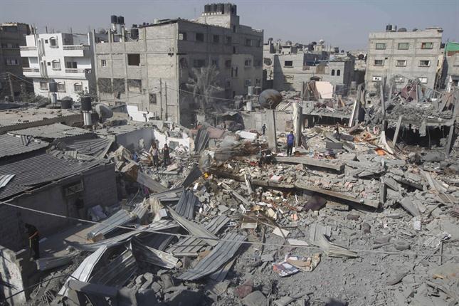 Baño de sangre en el sur de Gaza: murieron más de 120 palestinos