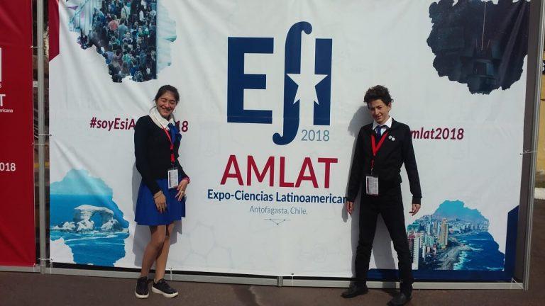 Jóvenes científicos de Cerrito en Chile
